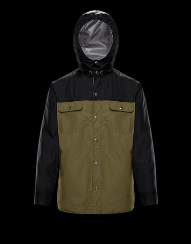 DONAN Black Category Field Jackets Man