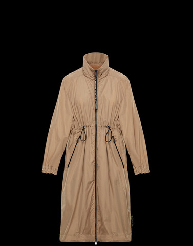 FER Camel Coats & Trench Coats Woman