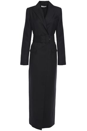 ANNA QUAN Nora belted twill coat