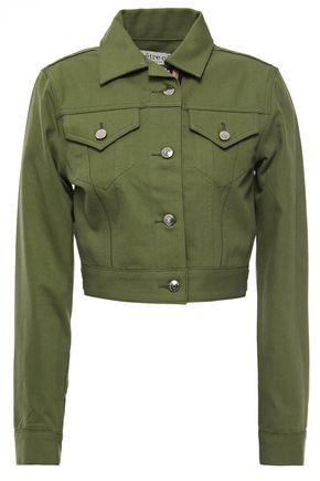 ÊTRE CÉCILE Cropped denim jacket