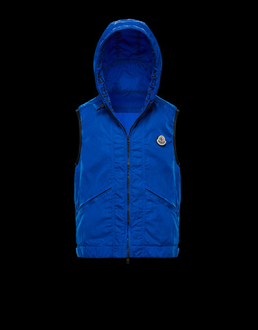 TOUQUES Bright blue Category Waistcoats Man