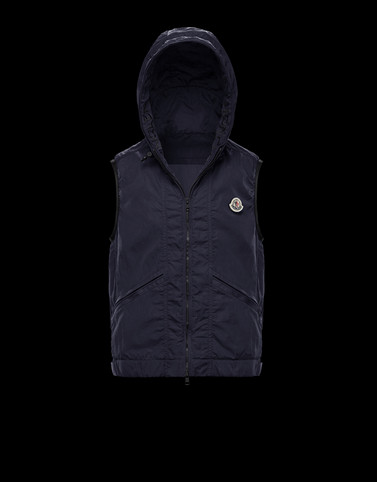 TOUQUES Dark blue Category Vests Man