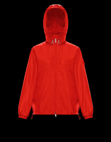 ALEXANDRITE Red Category Windbreakers Woman