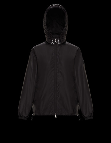ALEXANDRITE Black Windbreakers Woman