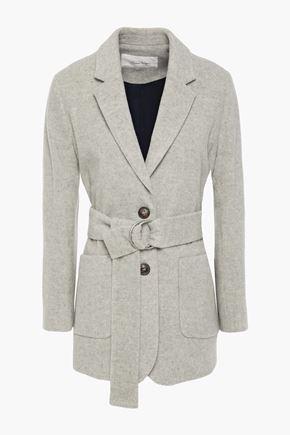 AMERICAN VINTAGE معطف من الجوخ الممشَّط المصنوع من مزيج الصوف مزوّد بحزام