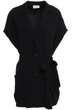 AMERICAN VINTAGE Belted crepe vest