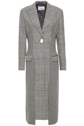 EACH X OTHER Prince of Wales checked woven coat