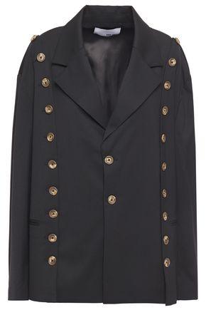 EACH X OTHER Button-embellished gabardine blazer