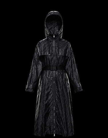 BOUTEILLE Black Category Parka Woman