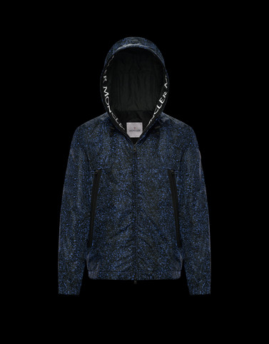 SIAGNE Dark blue Windbreakers Man