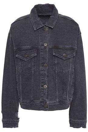 3x1 Distressed denim jacket