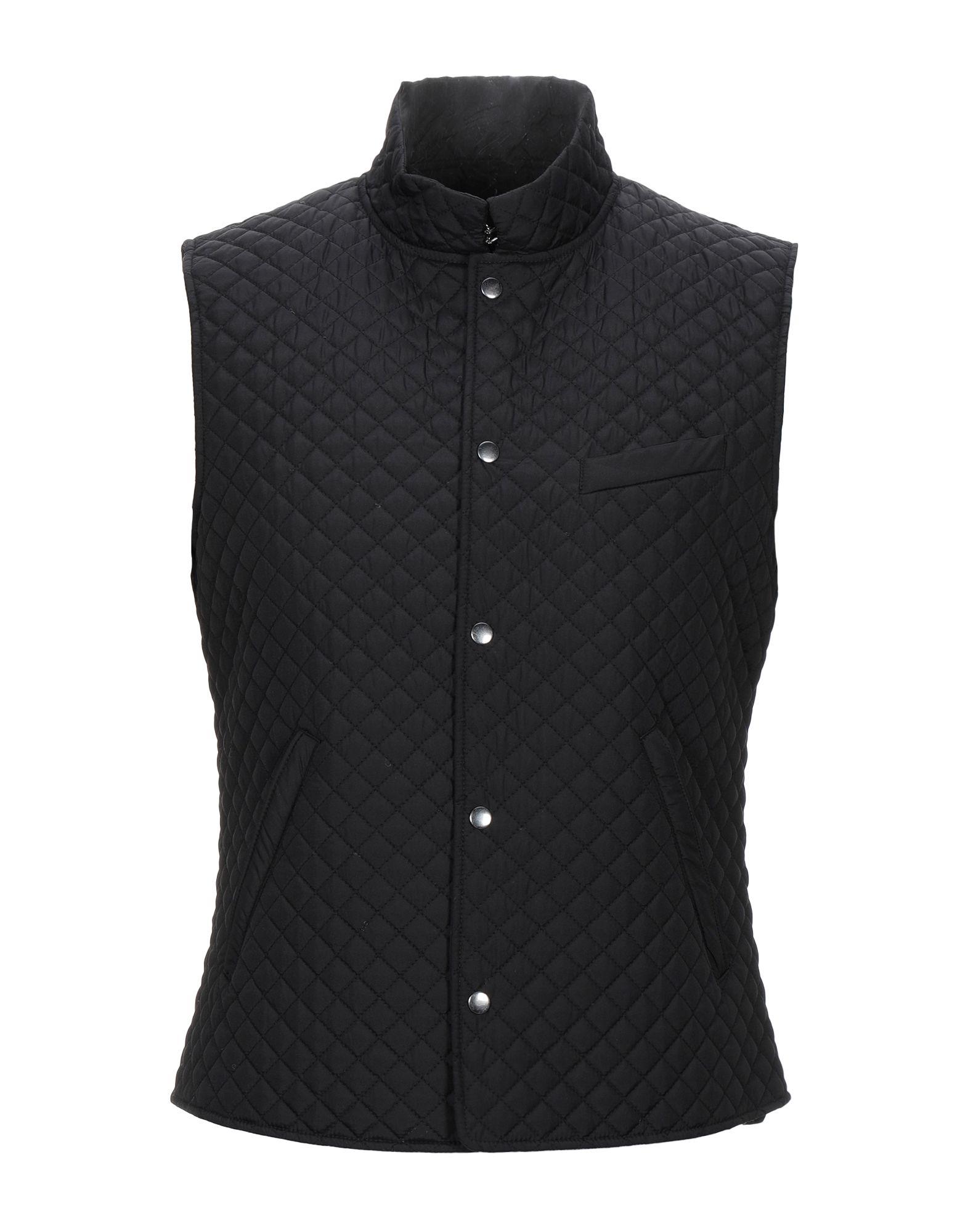 YOOX.COM(ユークス)《セール開催中》LIU? JO MAN メンズ 合成繊維中綿アウター ブラック S ポリエステル 100%