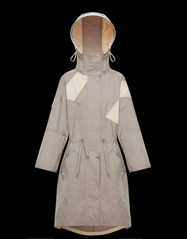 FREESIALONG Light grey Coats & Trench Coats Woman