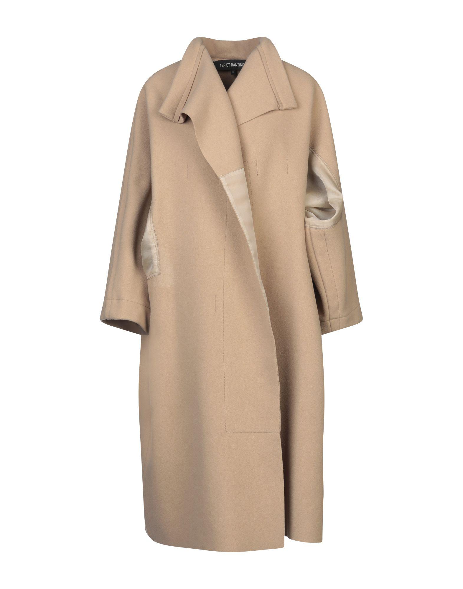 TER ET BANTINE Пальто