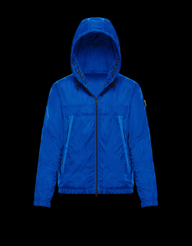 SCIE Blue Category Windbreakers Man