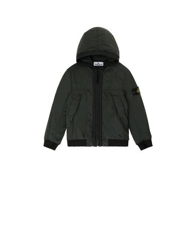 STONE ISLAND KIDS 41031 COMFORT TECH COMPOSITE  Jacket Man Bottle Green USD 258