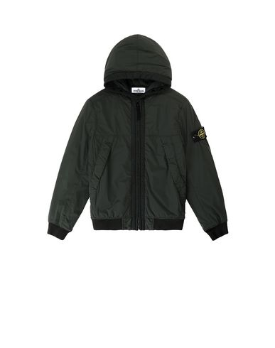 STONE ISLAND JUNIOR 41031 COMFORT TECH COMPOSITE  Jacket Man Bottle Green EUR 235