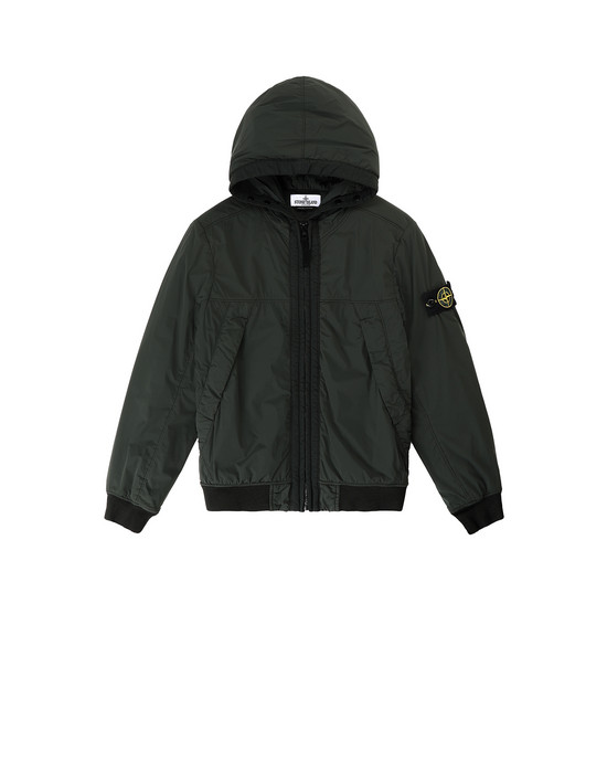 Jacket Man 41031 COMFORT TECH COMPOSITE  Front STONE ISLAND JUNIOR