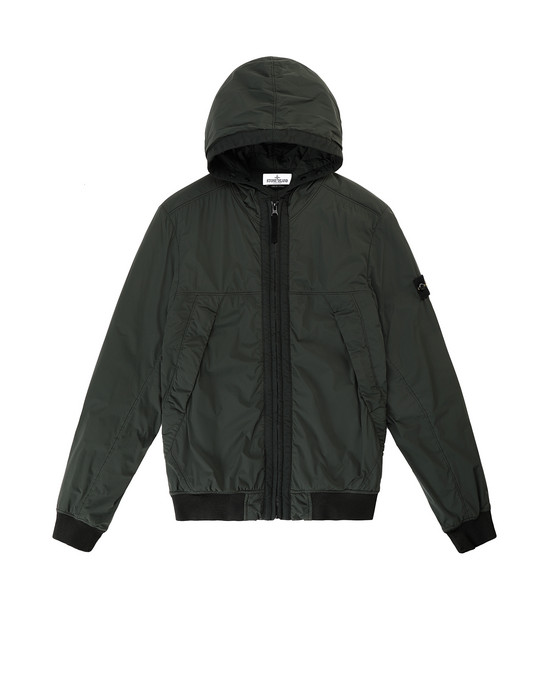 STONE ISLAND JUNIOR 41031 COMFORT TECH COMPOSITE  캐주얼 재킷 남성 보틀 그린