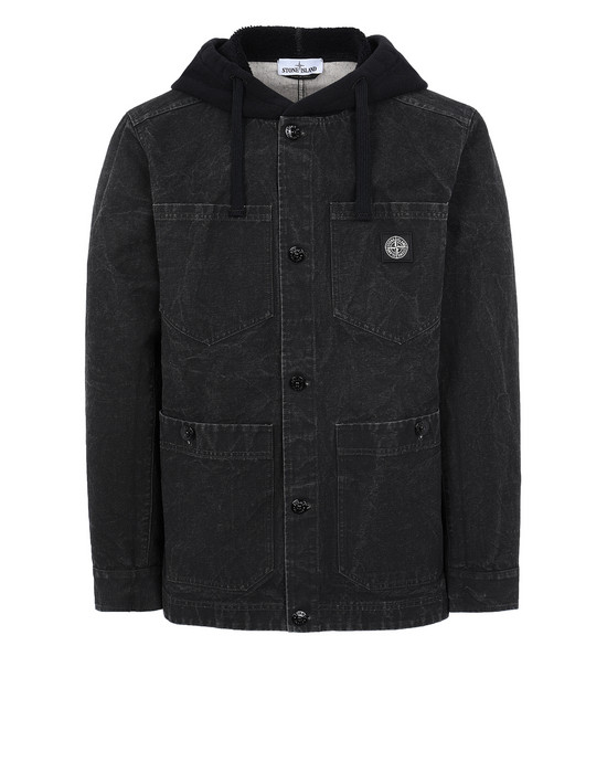 STONE ISLAND  Jacket Man Black