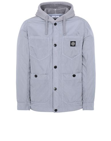 STONE ISLAND 428J2 NYLON TELA-TC Jacket Man Dust Grey EUR 396
