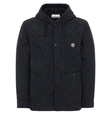 STONE ISLAND 428J2 NYLON TELA-TC Jacket Man Black USD 557