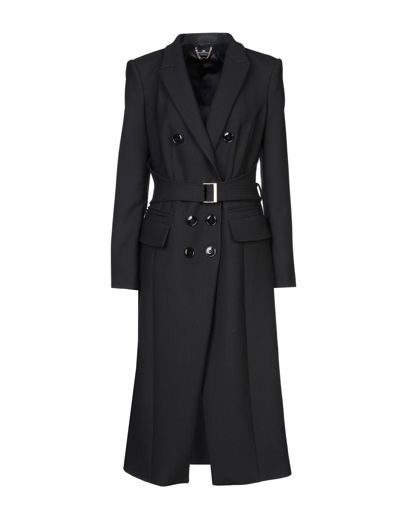 ELISABETTA FRANCHI Пальто elisabetta franchi легкое пальто