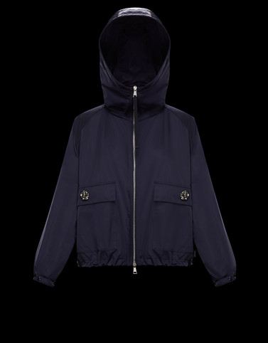 ACIER Dark blue Jackets Woman