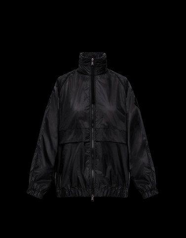 GROSEILLE Black Category Windbreakers Woman