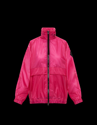 GROSEILLE Fuchsia Windbreakers Woman
