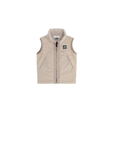 STONE ISLAND KIDS G0131 COMFORT TECH COMPOSITE  Waistcoat Man Sand EUR 294