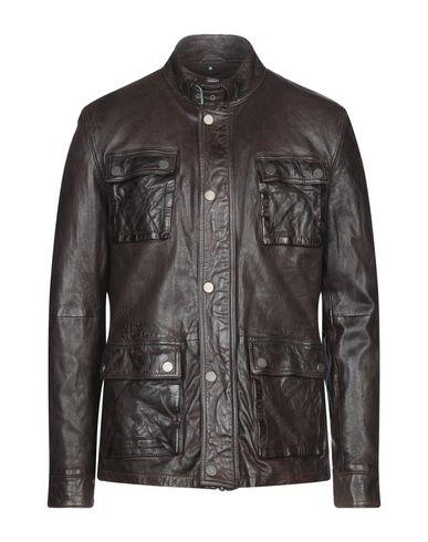 Фото - Мужскую куртку MINORONZONI темно-коричневого цвета