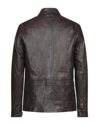Фото 2 - Мужскую куртку MINORONZONI темно-коричневого цвета