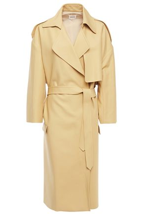 KHAITE Cotton-twill trench coat
