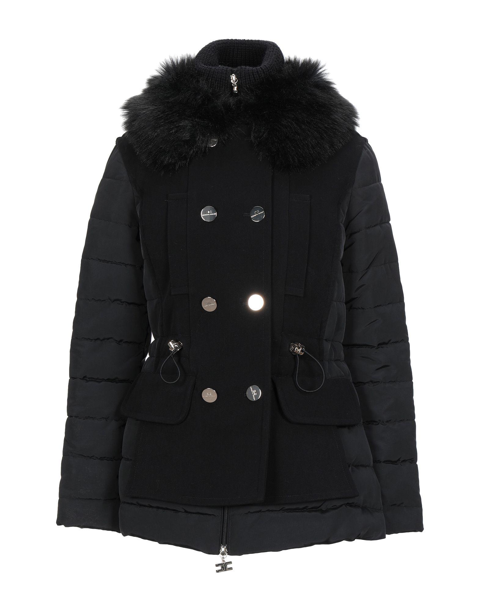 ELISABETTA FRANCHI ICY Пальто elisabetta franchi легкое пальто