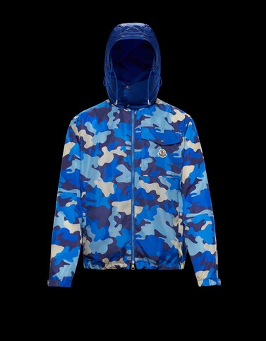 VIDOURLE Azure Category Windbreakers Man