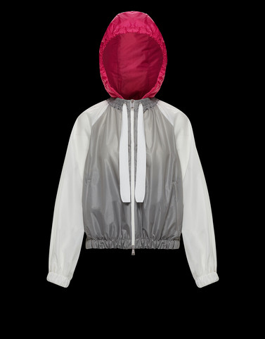 FUCHSIA Grey Category Windbreakers Woman