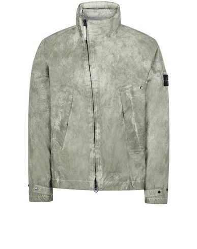 STONE ISLAND 41524 MEMBRANA 3L WITH DUST COLOUR FINISH Jacket Man Beige EUR 515
