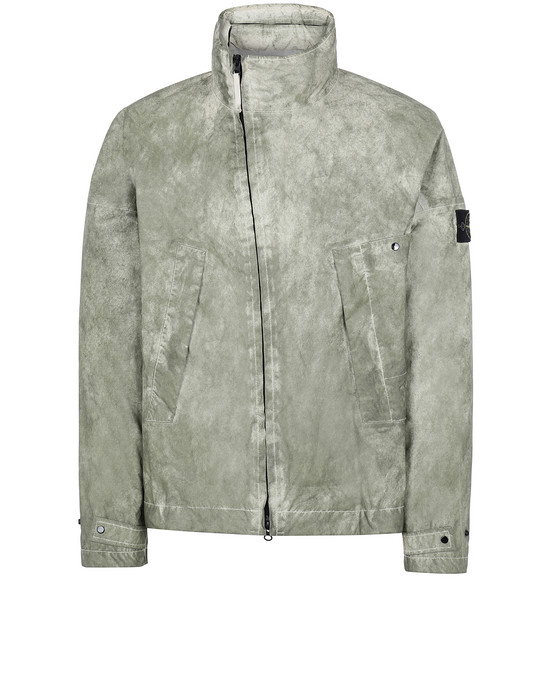 STONE ISLAND 41524 MEMBRANA 3L WITH DUST COLOUR FINISH Cazadora Hombre Beis