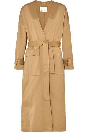 3.1 PHILLIP LIM Satin trench coat