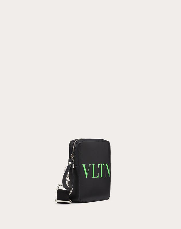 Small VLTN Leather Crossbody Bag