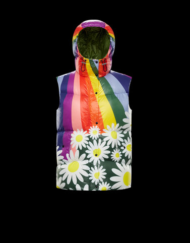 RAQUEL Multicoloured 8 Moncler Richard Quinn Woman