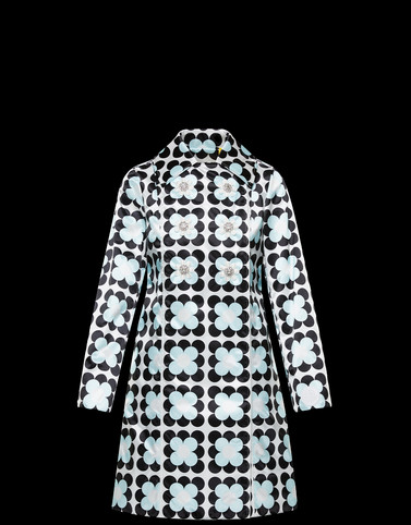 SHIRLEY Turquoise Coats & Trench Coats Woman