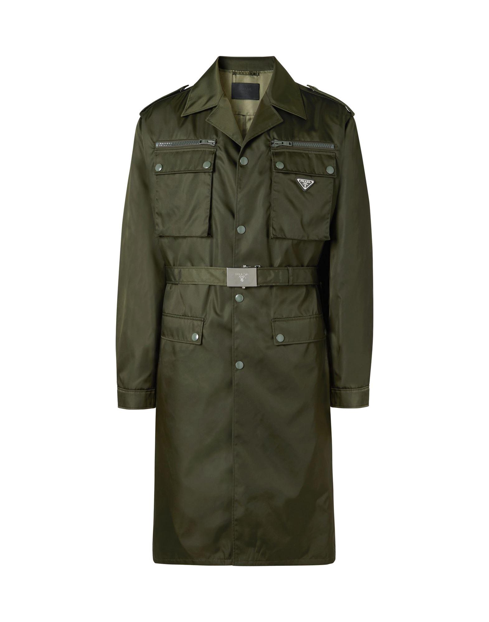 PRADA Overcoats - Item 41966244