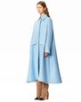 LANVIN Outerwear Woman A-LINE COAT f