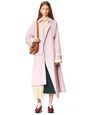 LANVIN Outerwear Woman ASYMMETRIC TRENCHCOAT f