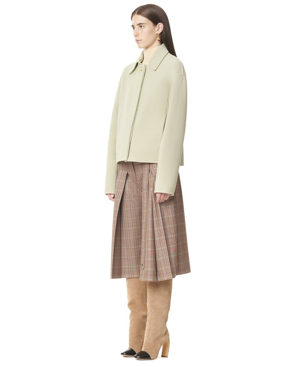 SOFT JACKET WITH DETACHABLE COLLAR - Lanvin