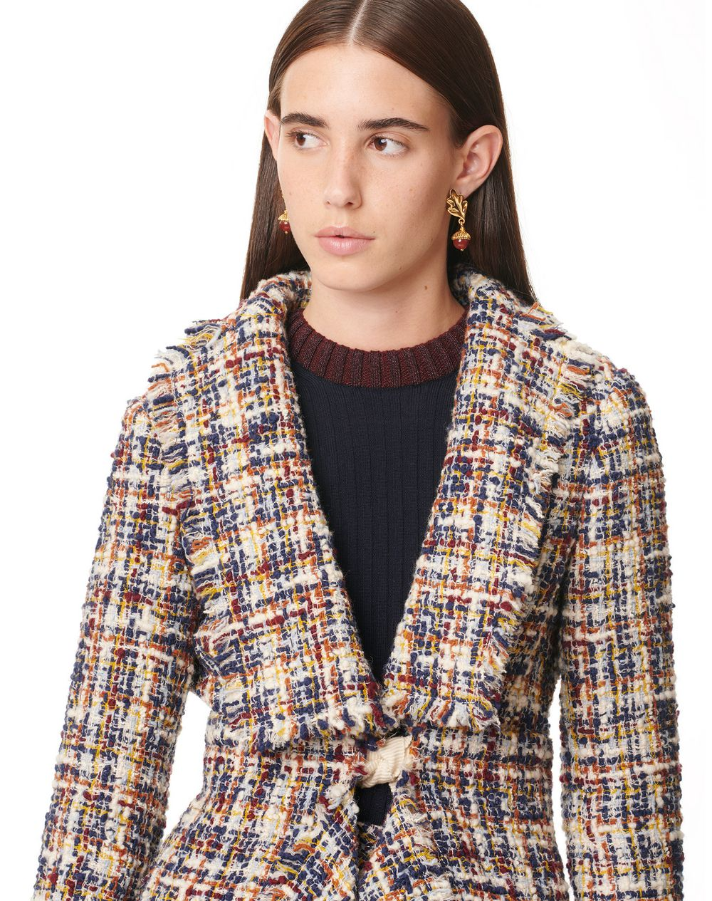 ASYMMETRIC KNOTTED JACKET - Lanvin