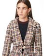 LANVIN Jacket Woman ASYMMETRIC KNOTTED JACKET f