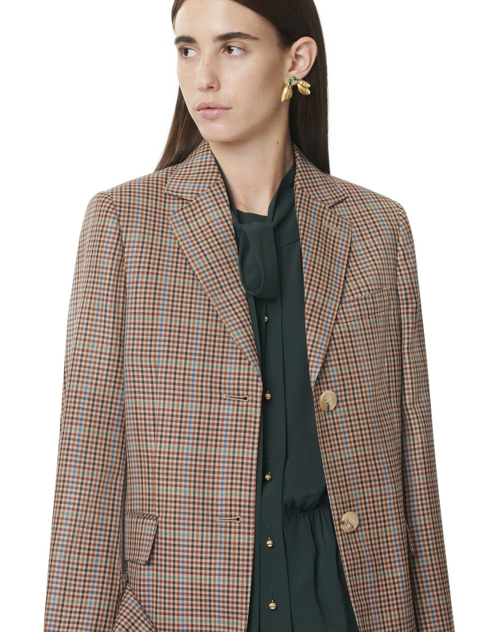 FLARED-SLEEVE TAILORED JACKET - Lanvin
